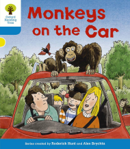 Monkeys on the Car